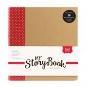 My Storybook album červený