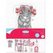 Papierové výseky - Roses A4