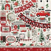 Nálepky - Christmas Market