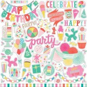 Nálepky -  Let's Party