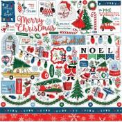 Nálepky - Merry Christmas