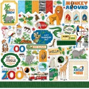 Nálepky - Zoo Adventure