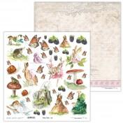 Obojstranný papier - Fairy Tales 03