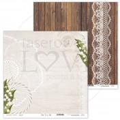 Obojstranný papier - First LOVE 02