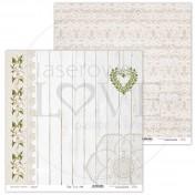 Obojstranný papier - First LOVE 04