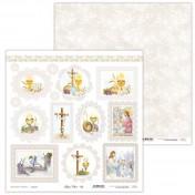 Obojstranný papier - Holy & White 03