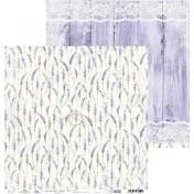 Obojstranný papier - Lavender hills 03