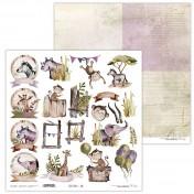 Obojstranný papier - Little Safari 10