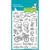Silikónové razítka-  Bicycle Built For You