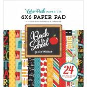 Sada papierov - Back to School (15,2x15,2 cm)