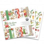 Sada papierov - Christmas treats 30,5x30,5 cm