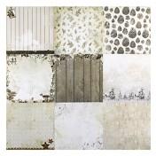 Sada papierov - Frozen Forest nr.87  15,2x15,2 cm