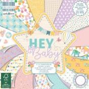 Sada papierov - Hey Baby (15,2x15,2 cm)
