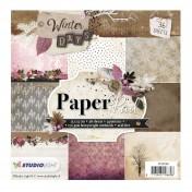 Sada papierov - Winter days nr. 99  15,2x15,2 cm