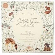 Sada papierov   Little Fawn & Friends ( 30,5 x 30,5 cm)