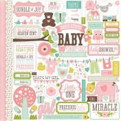 Nálepky - Bundle of Joy Girl