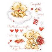 Razítka Elegy -  My little Bear To Wonderful couple