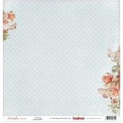 Jednostranný papier -  Set Butterflies - Morning