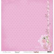 Jednostranný papier -  In Bloom Pretty In Pink