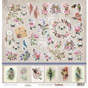 Jednostranný papier - Primavera Cards 1