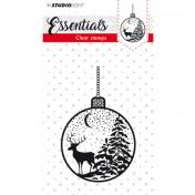 Silikónová pečiatka -Stamp Essentials, nr.298
