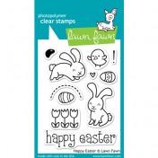 Silikónové razítka Lawn Fawn - Happy Easter