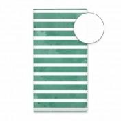 Travel journal - Green stripes