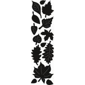 Vyrezávacia šablóna - autumn leaves