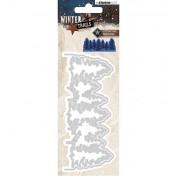 Vyrezávacia šablóna -  Winter Trails, nr.106