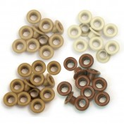 We R Memory Keepers standard eyelets brown