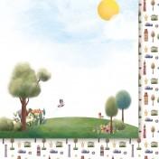 Obojstranný papier  - Za siedmioma górami 03
